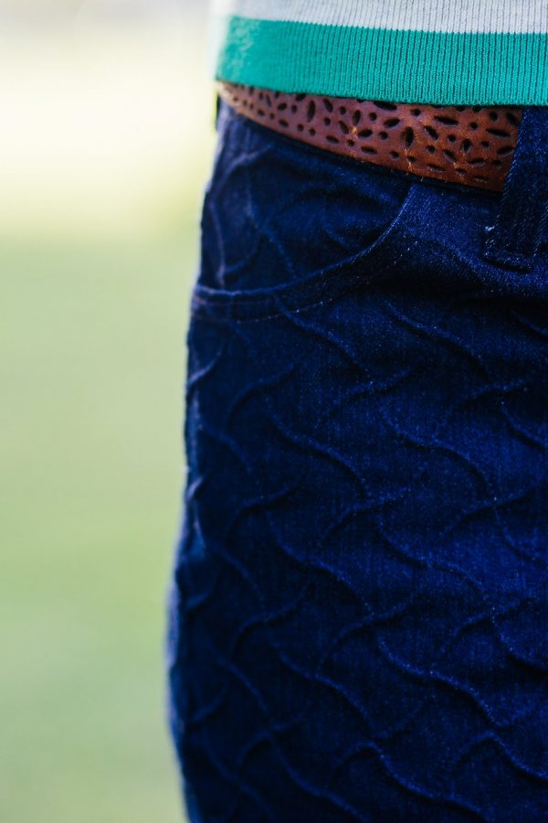 TSB jean style pockets