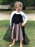 CF knit top sweetheart short skirt