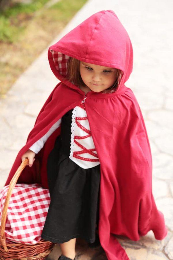 MBJ full length hooded cape