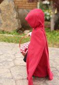MBJ hooded full length cape
