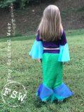 MJL mermaid bell sleeve