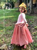 MJL peplum full length skirt