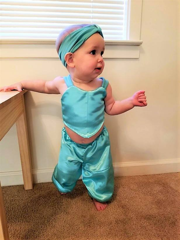 RN harem pants sweetheart with straps 12mo