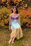 VI size 10 mermaid skirt